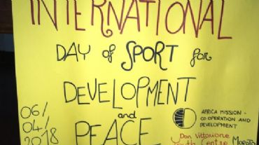 International Day of Sport for Development and Peace!